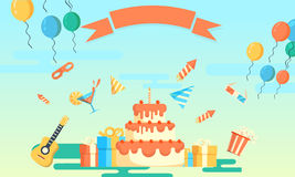 Party and celebration background Royalty Free Stock Photo