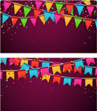 Party celebration backgrounds Stock Photo