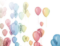Party celebration balloons Royalty Free Stock Photos