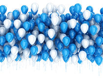 Party celebration balloons Royalty Free Stock Images