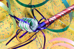 Party celebration horn Royalty Free Stock Photography