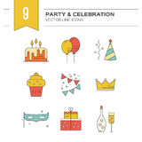 Party and Celebration Stock Image
