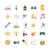 Party and Celebration Vector Icons 2 Royalty Free Stock Photo