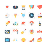 Party and Celebration Vector Icons 3 Royalty Free Stock Photography