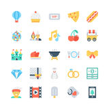 Party and Celebration Vector Icons 6 Stock Images