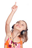 Party child pointing Royalty Free Stock Photos