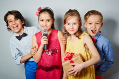 Party children Royalty Free Stock Photography