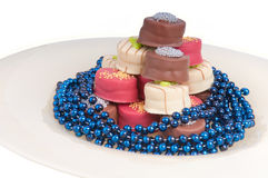 Party chocolates Royalty Free Stock Images