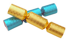 Party Christmas Crackers Stock Image
