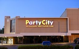 Party City Royalty Free Stock Images