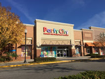Party City store Stock Photography