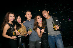 Party in club Royalty Free Stock Photography