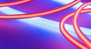Party club neon lights decoration Royalty Free Stock Image
