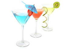 Party cocktail drinks Stock Photography