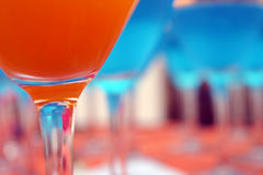 Party cocktails Royalty Free Stock Photo