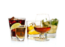 Party cocktails Royalty Free Stock Photography