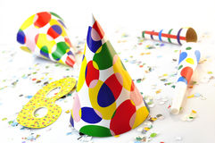 Party color Royalty Free Stock Photos