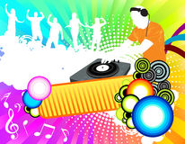 Party color background Stock Photo