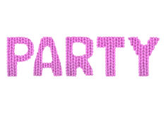 Party. Color pink Royalty Free Stock Images