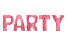 Party. Color red Royalty Free Stock Image
