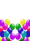 Party colorful balloons Stock Photos