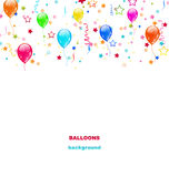 Party Colorful Balloons Stock Photography