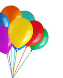 Children's party colorful balloons Royalty Free Stock Photo