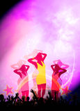 Party or concert background Stock Photography