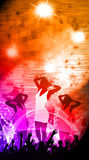 Party or concert background Stock Images