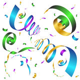 Party Confetti Icon Background Stock Image
