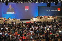 Party convention SPD Stock Image