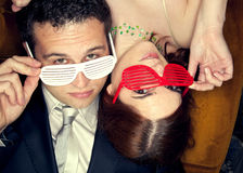 Party Couple Royalty Free Stock Photos