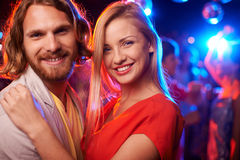 Party couple Stock Images