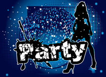 Party cover illustration Stock Photos