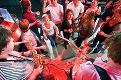 Party crowd Stock Images