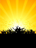Party crowd stock illustration