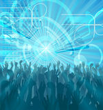 Party Crowd Abstract Party Background Stock Image