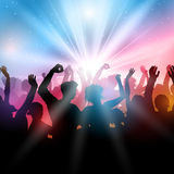 Party crowd background Royalty Free Stock Image
