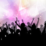 Party crowd background Royalty Free Stock Photos