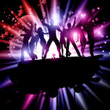 Party crowd background Royalty Free Stock Photography