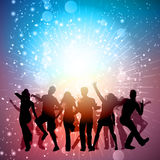 Party crowd background Royalty Free Stock Images
