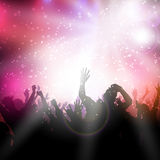 Party crowd Royalty Free Stock Photo