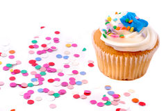 Party Cupcake Stock Photos