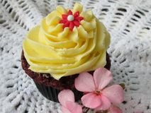 Party Cupcake. Royalty Free Stock Image