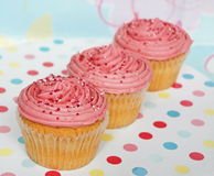 Party cupcakes Royalty Free Stock Photography