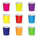 Party cups Royalty Free Stock Photos