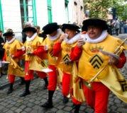 Party de Doudou in Mons, Belgien lizenzfreie stockfotos