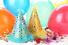 Party Decoration. New Year's Party Decoration stock photo