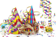 Party decoration. Isolated on white background Stock Image