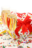 Party decoration. Isolated on white background Royalty Free Stock Photo
